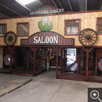 Wildwest play area